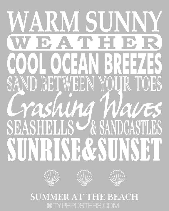 Summer at the beach ❥ repinned by the-glitter-side.blogspot.com