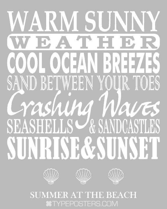 Summer at the beach ❥