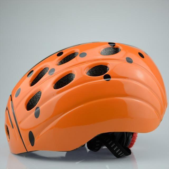 Lady Bug Kids Helmet