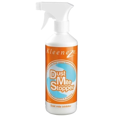 Dust Mite Stopper. Easy to use. Helps to kill dust mites in carpets, mattresses, bedding and other textiles. No odour.  Old Price:£10.00 New:£9.95