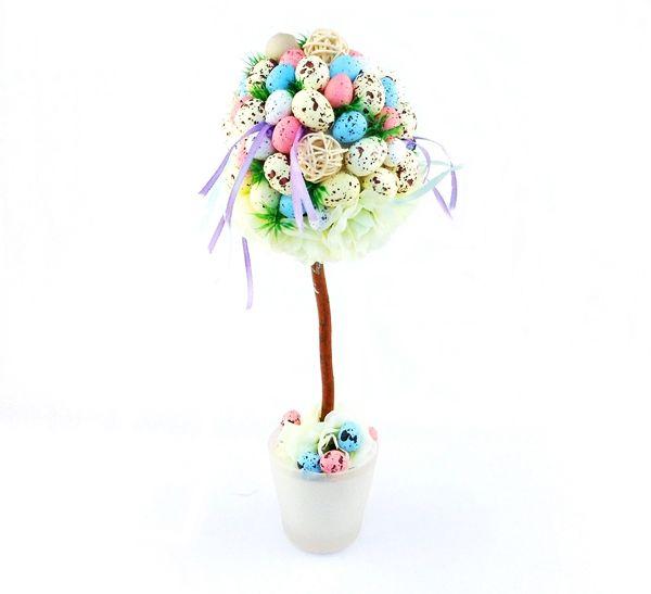 Drzewko Wielkanocne Pastelowe Małe