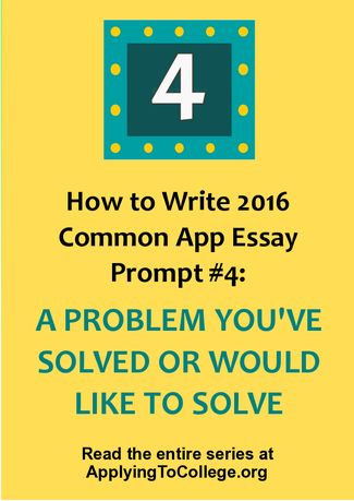 common app essay upload problem Wondering how to answer common app essay prompts this will be your complete starting guide for common app essays writing about a problem you want to.