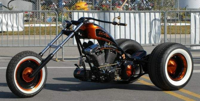 hard up choppers trike - Google Search
