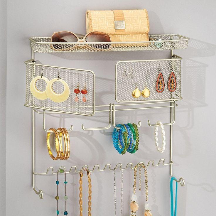 1000 ideas sobre soporte de joyas en pinterest - Percheros para collares ...