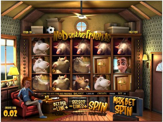 Ned and his Friends 3D Slot Machine. Play this amazing 3D 5-reel slot game at SweetBet