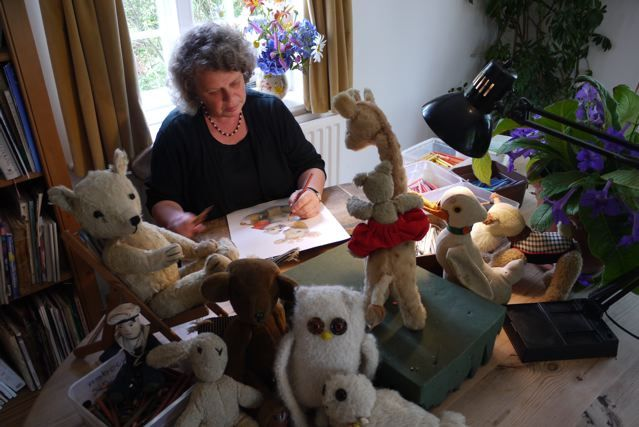 Jane Hissey creator of Old Bear and friends