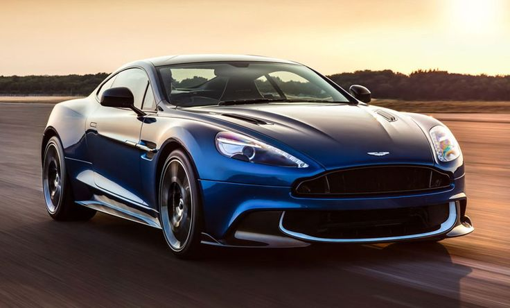Aston Martin Unveil The Revamped Vanquish S -