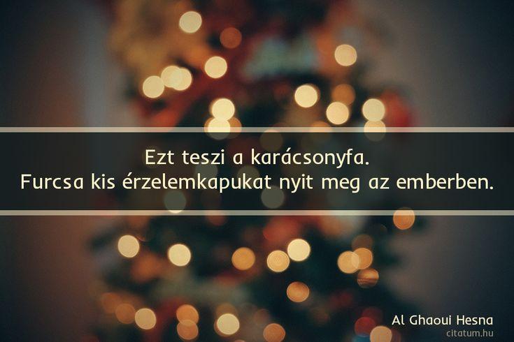 Al Ghaoui Hesna #idézet #karácsony