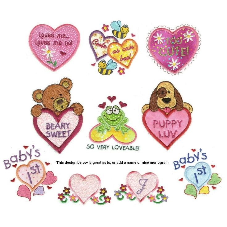 Best images about valentine s day embroidery designs on
