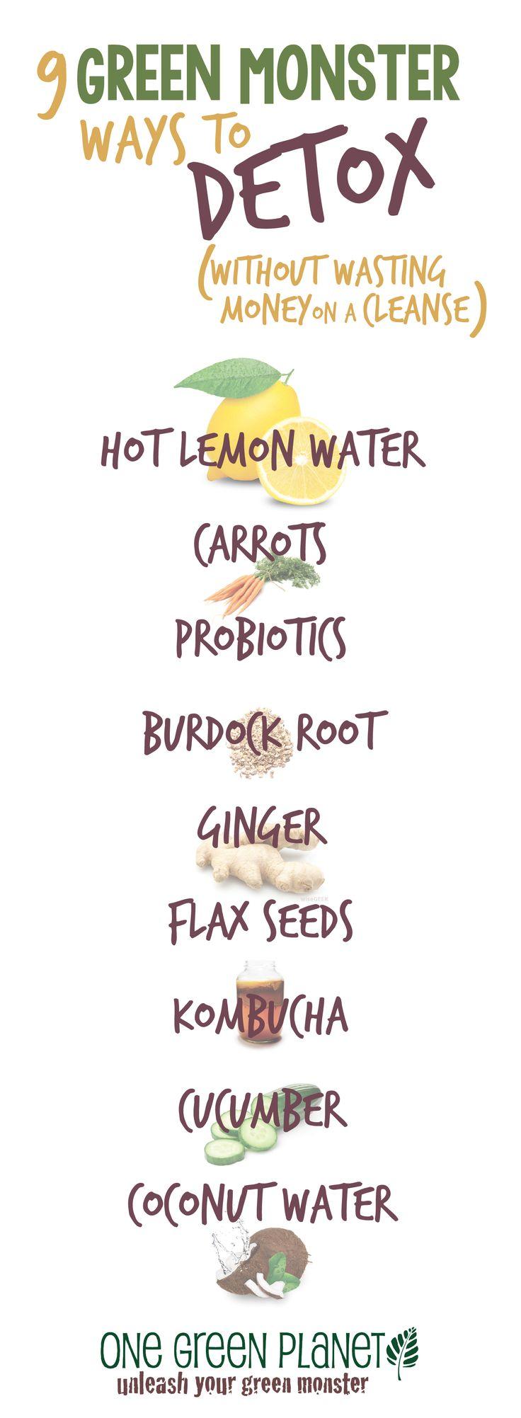 Natural plant based diet: detox naturally