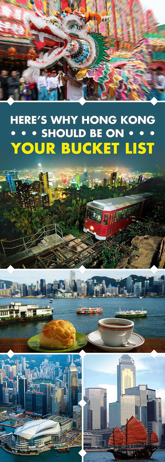 Discover the best Hong Kong has to offer! Learn more about 'Asia's World City' with this broad overview of Hong Kong's countless options, covering everything from iconic city experiences, things to do, top attractions to the great outdoors. Explore Hong Kong from Victoria Peak or have family fun at Hong Kong Disneyland, and check out the dim sum, street food and other must eats like a local.