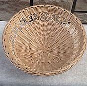 Для дома и интерьера ручной работы. Ярмарка Мастеров - ручная работа Ваза для фруктов ( плетёная). Handmade.