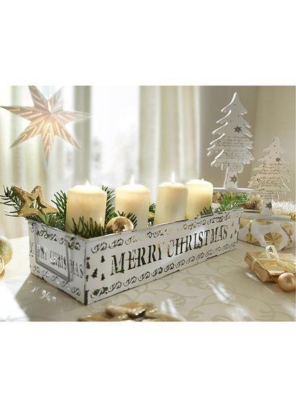 Подсвечник «Счастливого Рождества»-bpc living bonprix collection