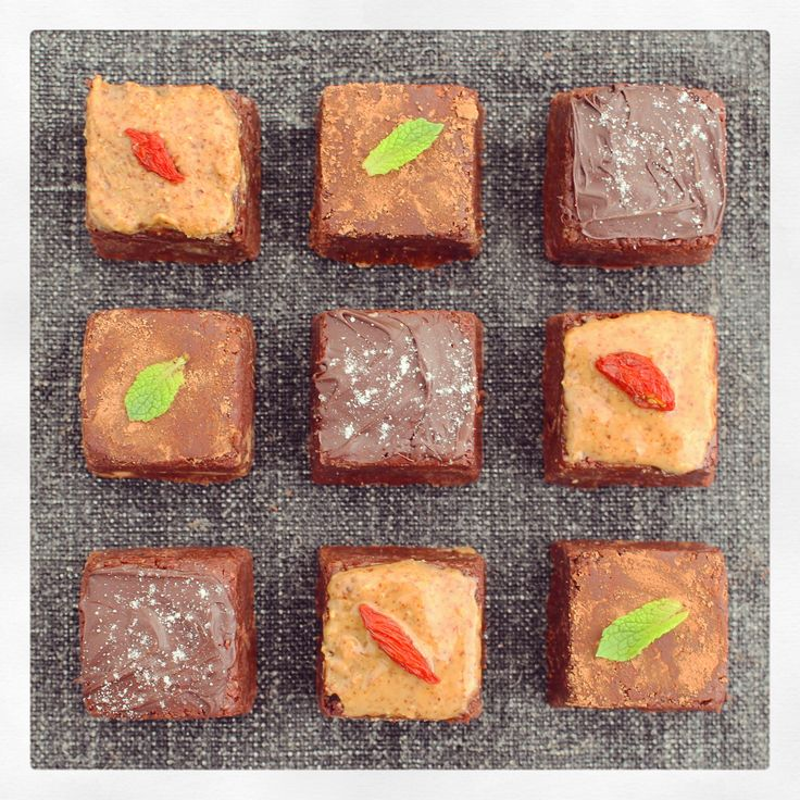 These little squares of heaven took a while to perfect, minutes to scoff, and bloody ages to name. You'll understand when you try them (which, by the way, you must) – they're like…