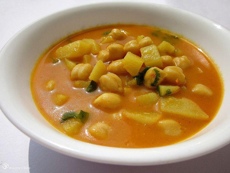 zemiakovo-cicerova polievka