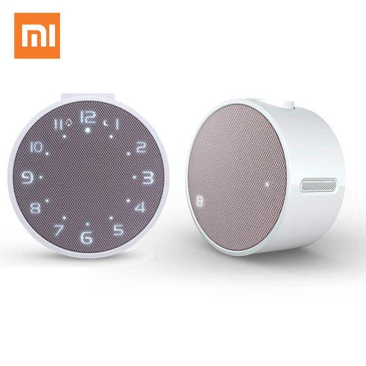 Xiaomi Mi Music Alarm Clock Bluetooth Speaker Audio Speakers Bluetooth 4.1 Control with APP for Android Smartphone Loudspeakers