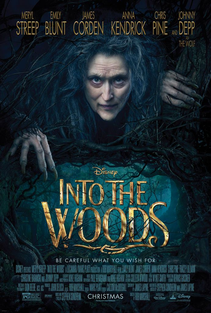 "Do You Dare Walk the Path Into the Woods? ""In to the Woods"" amazing cast. This looks fantastic and I can't wait for it to open in theaters. Christmas day 2014."