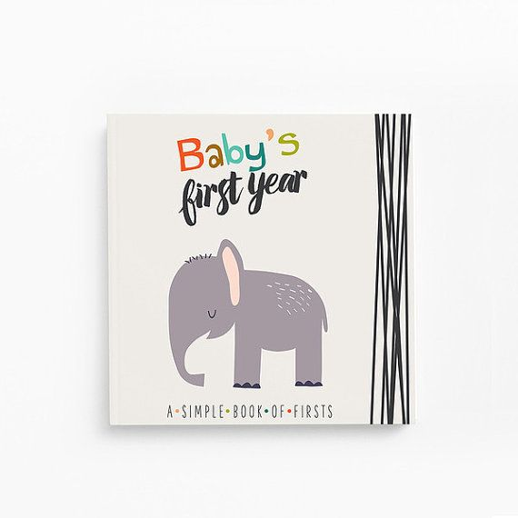 This modern baby book helps bring our mission to life by giving you a simple (and beautiful!) way to document all the darling moments of babys