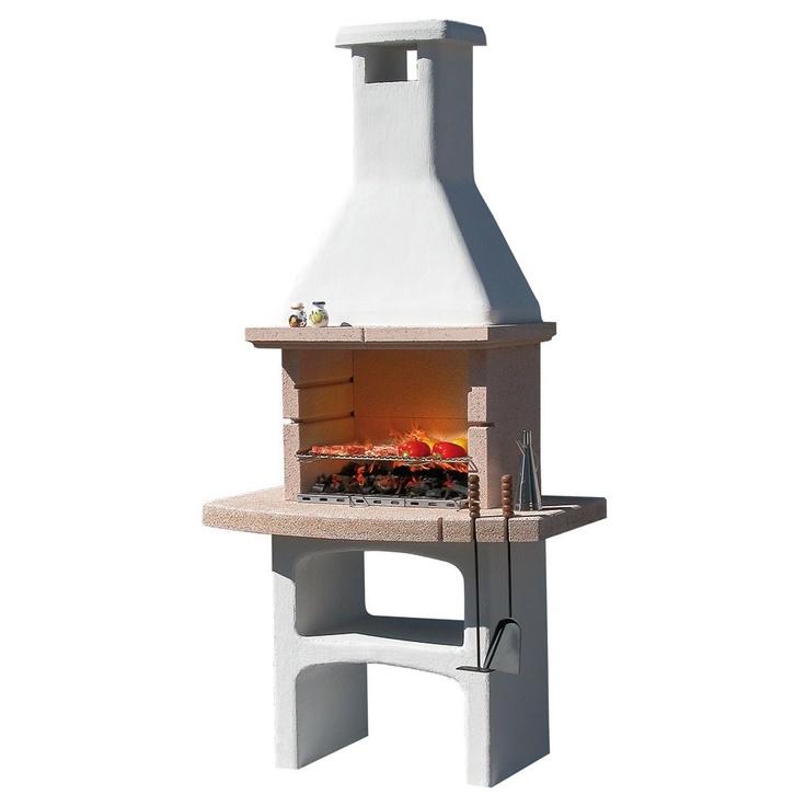Caminetto barbecue in pietra touareg by mcz garden on - Caminetti per esterno ...