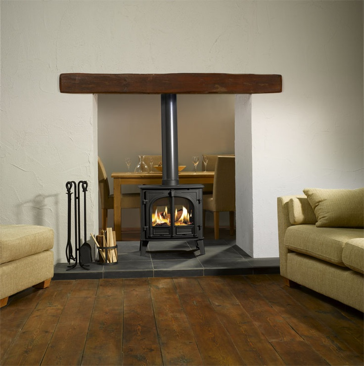 Stockton double sided - Wood burning stove Grateexpectations.com