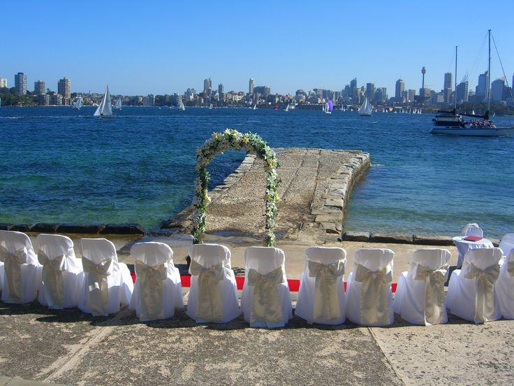 Bradleys Head Amphitheatre, Sydney Harbour Photo by Lillian Lyon Marriage Celebrant www.lyonheart.com.au