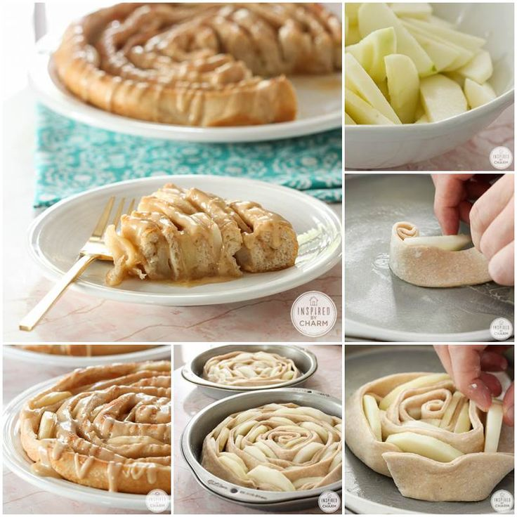 Creative Ideas - DIY Spiral Apple Bread with Caramel Apple Glaze | iCreativeIdeas.com Follow Us on Facebook --> https://www.facebook.com/iCreativeIdeas