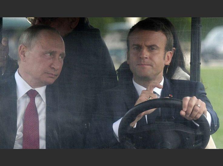 Difficile de savoir ce que Vladimir Poutine a pensé de cette expérience...
