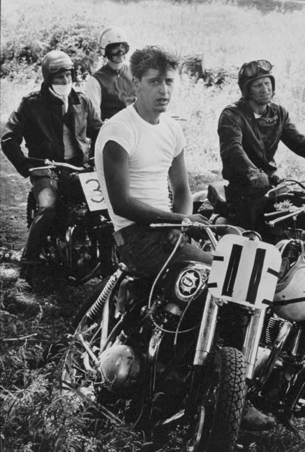 "Danny Lyon | Danny Lyon's ""The Bikeriders"" Exhibit"