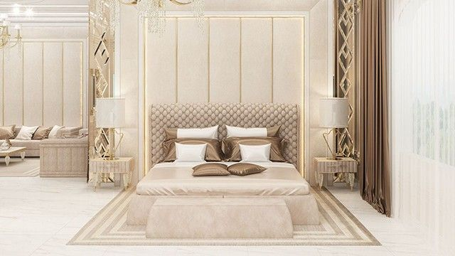 Bedroom Interior Design In Dubai By Luxury Antonovich Design Modern Luxury Bedroom Home Stairs Design Luxury Bedroom Master
