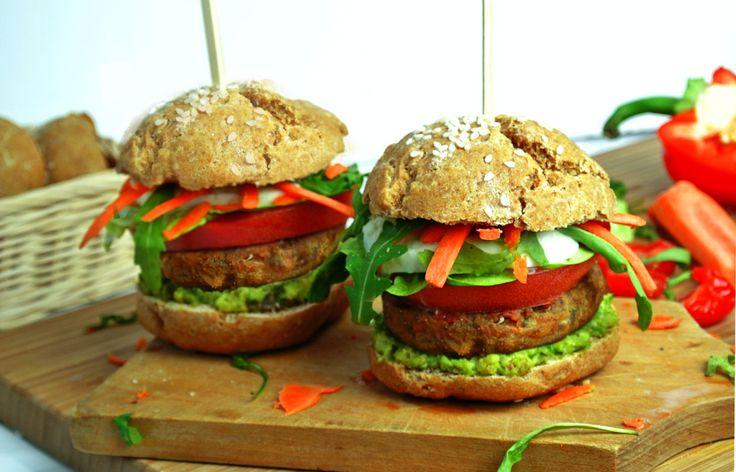 Stylowo i Zdrowo - blog o zdrowiu, aktywności i urodzie: VegeBurger - zdrowy przepis na burgera