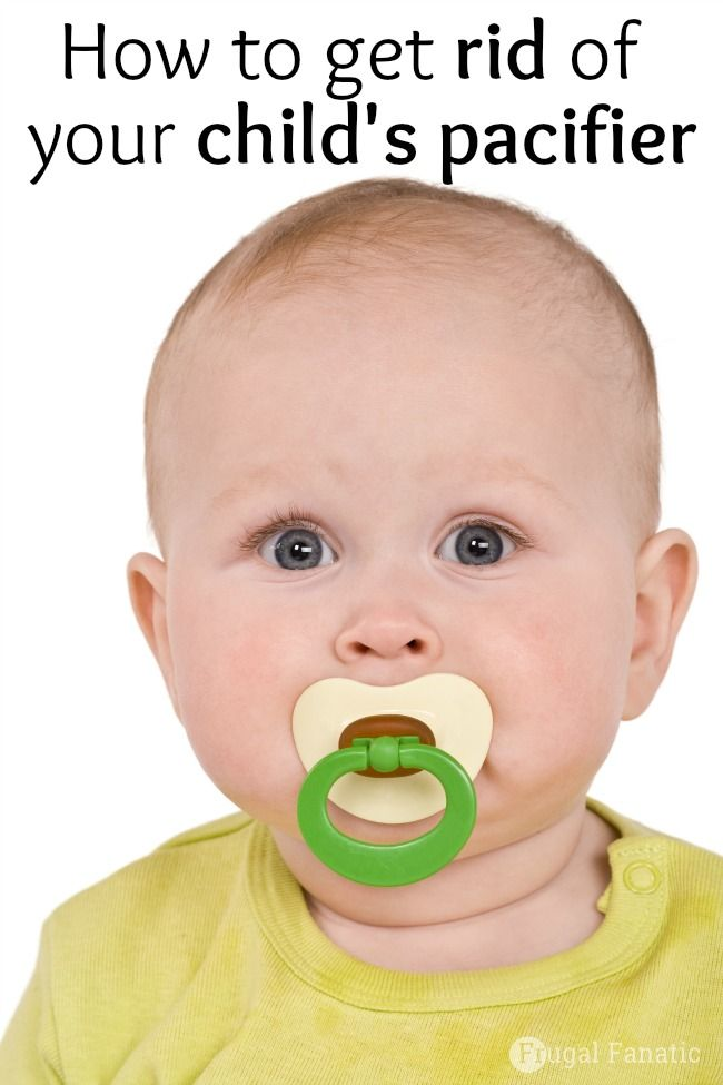 How To Get Rid Of Your Child's Pacifier - MUST Try Trick