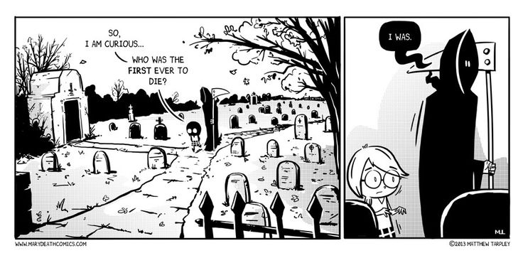 Mary Death -- I love this comic.