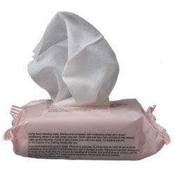 Keep the Vitamin E Gentle Cleansing Face Wipes tucked in your gym bag for quick post-workout cleansing. Convenient and easy to use cleansing wipes that remove make-up and impurities, cleanse, tone, moisturize and protect the skin, leaving it feeling refreshed, soft and smooth.
