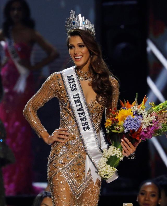 Iris Mittenaere est la nouvelle Miss Univers 2017.