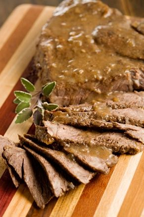 This is the pot roast recipe I use all of the time.  I do everything it says and put it in the crock pot on high for 8 hours.