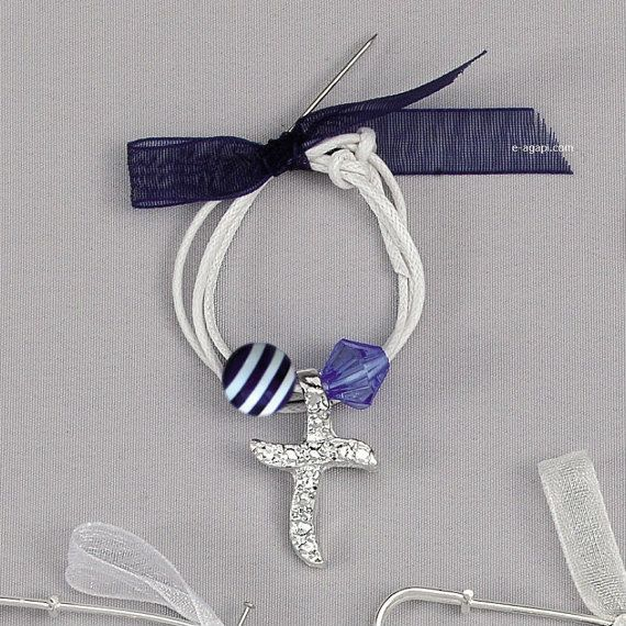 Greek baptism baby boy martyrika Bracelet witness by eAGAPIcom