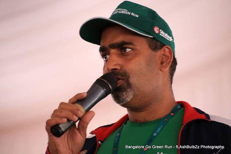 Subhaka Rao in Go Green Run