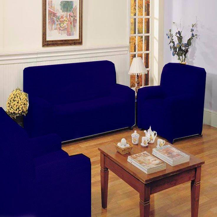 undas TRIO Sofás 3+1 Azul Marino TÚNEZ, combinado perfecto para colocar en los sofás, vienen con tres fundas de sofá,dos fundas sofá de 1 plaza y otra funda sofá de 3 plazas, son adaptables y ajustable sa cualquier sofá estándar, garantía de satisfacción, perfecta colocación y ajuste perfecto al sofá.