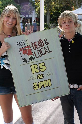 Ross Lynch 2009 | ... RossLynchStreetTeam stores to get your Ross and R5 Merch/Apparel