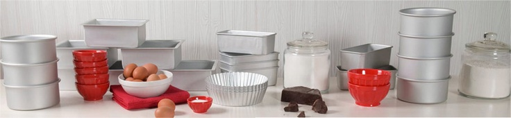 Fat Daddios bakeware.  Check it out at kitchychicks.com.  If You're Baking...We've Got the Goods!
