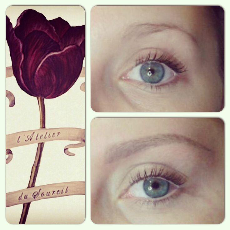 vous tes blonde et vous souhaitez faire une pigmentation latelier du sourcil vous - Coloration Blond Fonc Dor Iris