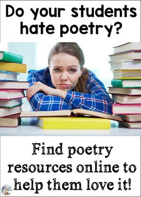 Poetry Online - find links to videos and free poetry resources!
