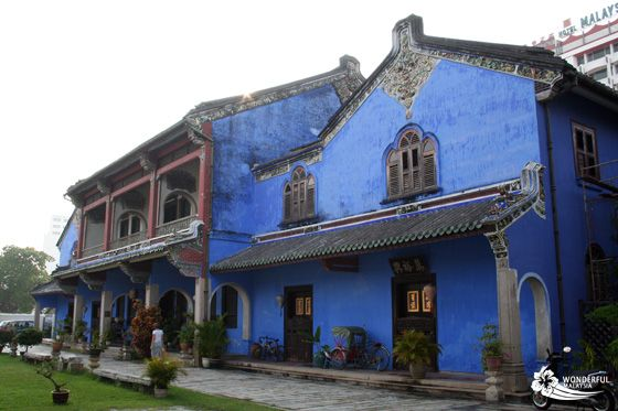 Cheong Fatt Tze Mansion (Blue Mansion) main building, Georgetown