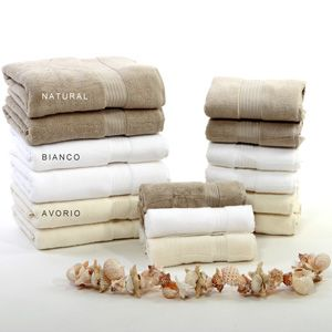 Asciugamani colori classici