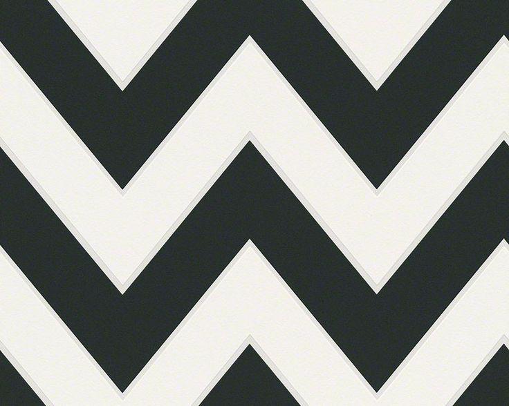 streifentapete metropolis by michalsky living vlies schwarz wei tapeten farben tapeten designtapeten - Tapeten Und Farben