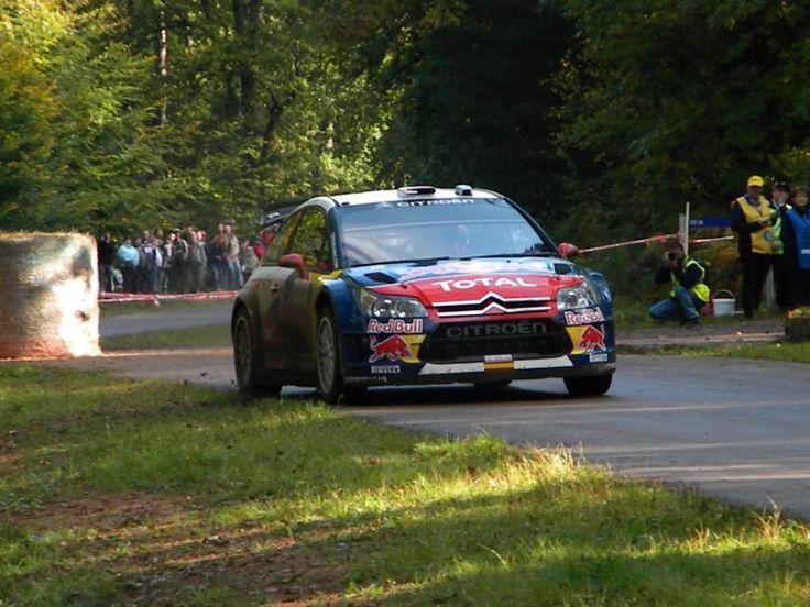 Sordo - citroen C4 WRC - rallye de France 2010