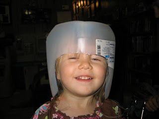 Eagle Nest Mom: Helmet of Salvation - Armor of God Craft