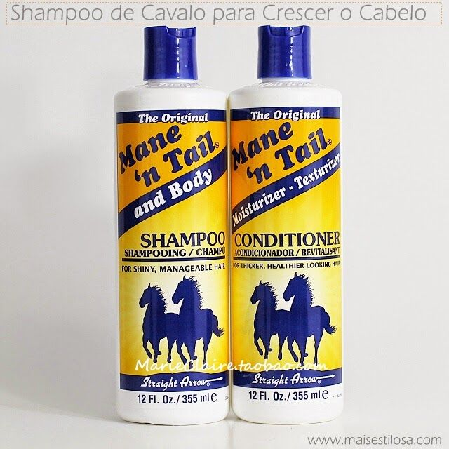 Provavelmentevocêsjá devem ter ouvido falar em um shampoo de cavalo que faz o cabelo crescermais rápido, esse shampoo já é muito famoso...