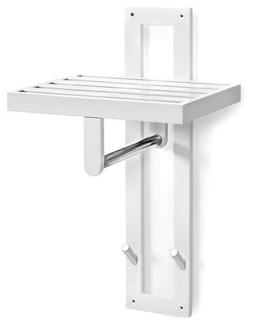 Köp - 195kr! Flipp Klädhängare vägg - Vit. Flipp-serien bygger på enkelhet, praktiska lösningar och materialval av högsta