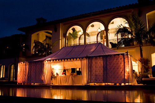 pool side tents